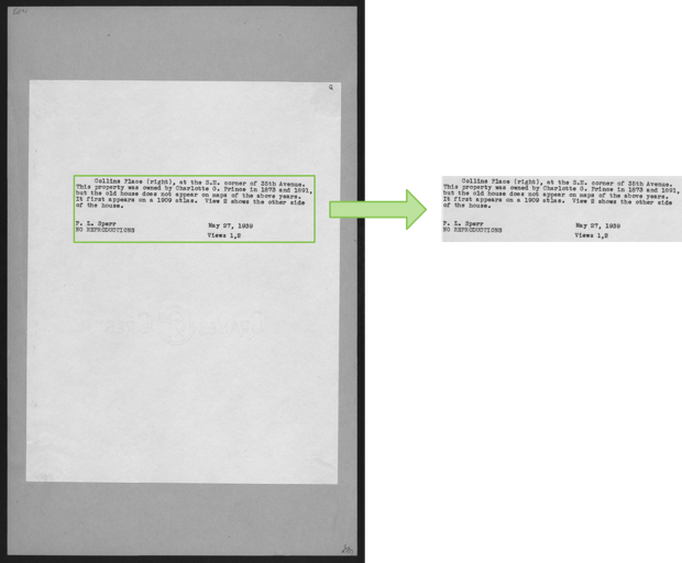 Finding blocks of text in an image using Python, OpenCV and