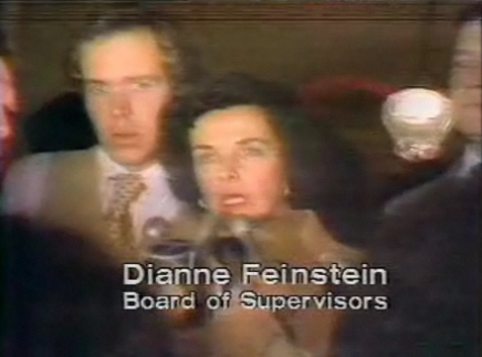 Dianne Feinstein announcing the deaths of Moscone and Milk